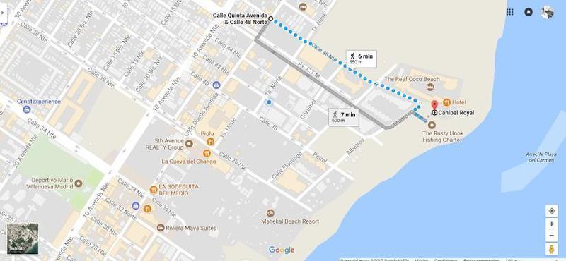 Foto Barrio Abierto en Luis Donaldo Colosio Calle Quinta Avenida esq. Calle 48 Nte. Playa del Carmen, Quintana Roo. número 3