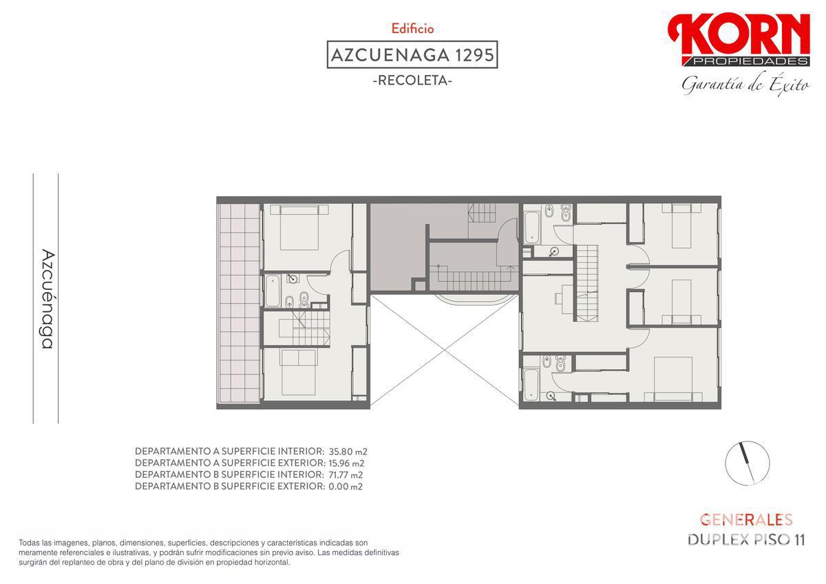 Foto Edificio en Recoleta Azcuénaga entre Beruti y Juncal numero 9