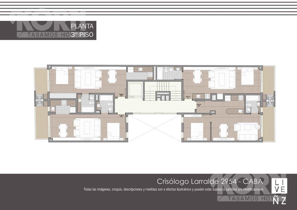 Foto Edificio en Nuñez Av. Crisólogo Larralde entre Cramer y Conesa numero 9