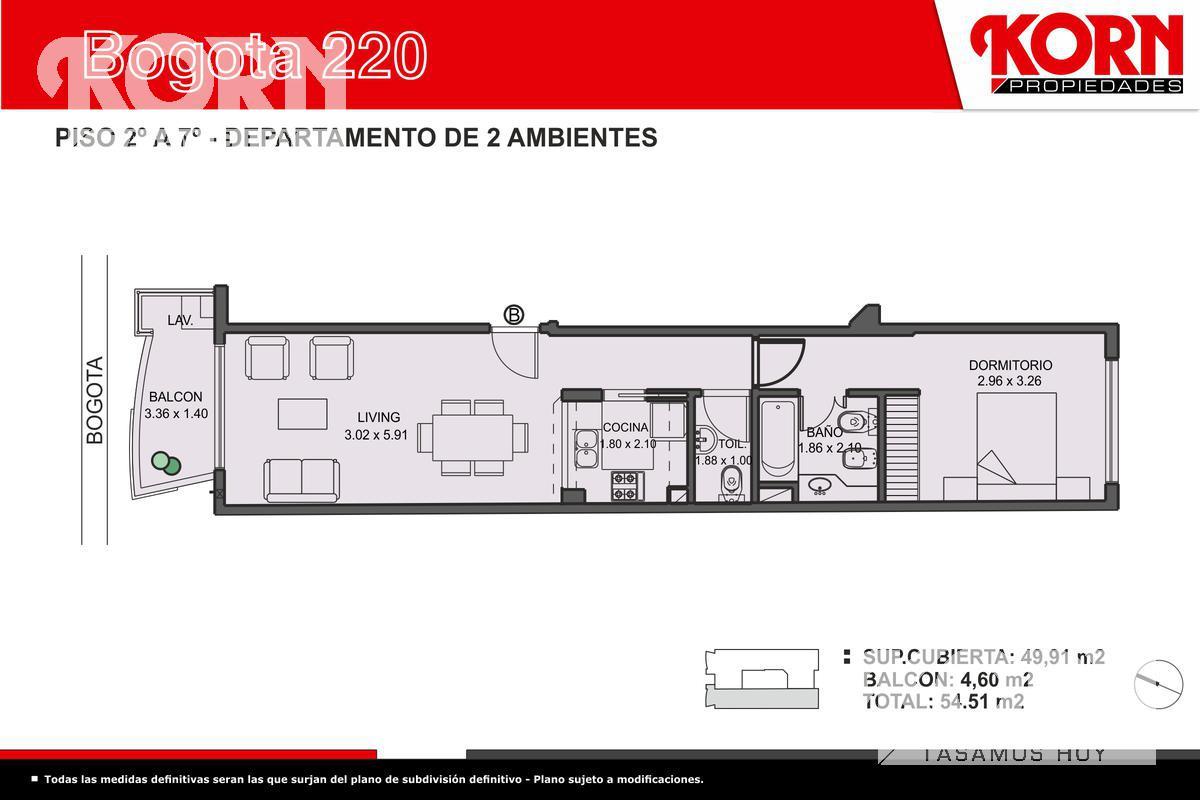 Foto Edificio en Caballito Norte Bogotá entre Dr. Eleodoro Lobos y Campichuelo numero 8