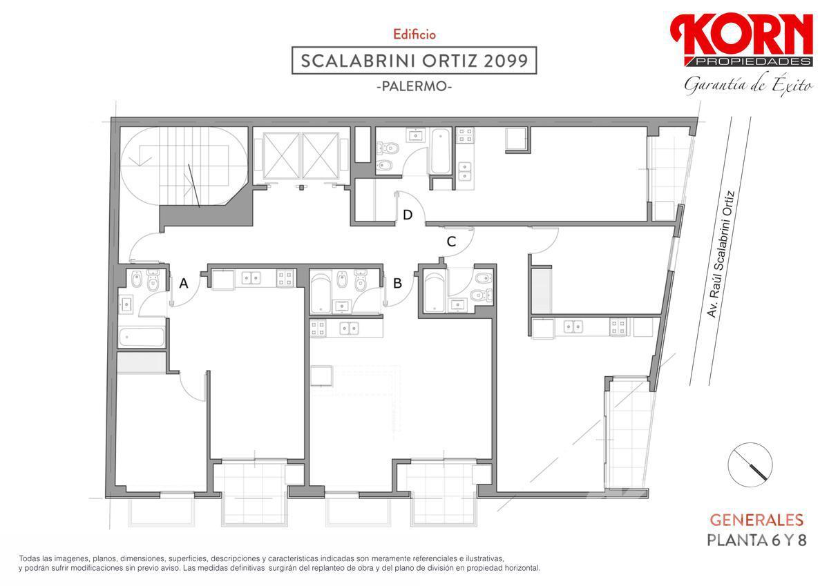 Foto Edificio en Palermo Av. Raul Scalabrini Ortiz y Paraguay numero 15