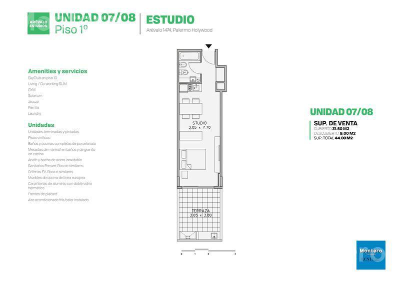 Foto Edificio en Palermo Hollywood Arévalo 1400 número 18