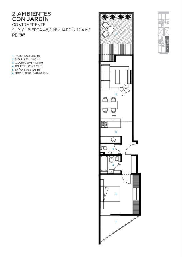 Foto Edificio en Saavedra Jaramillo 3744 número 12