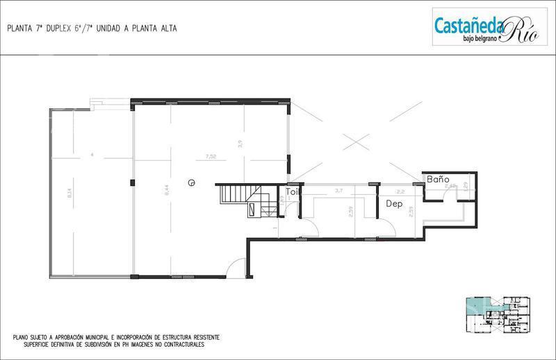 Foto Edificio en Belgrano C CASTAÑEDA 1800 Y SUCRE - BAJO BELGRANO número 18