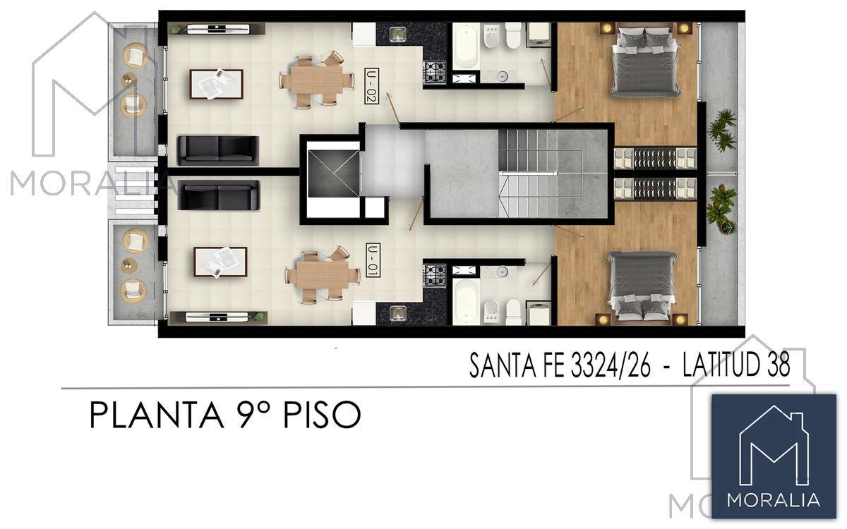 Foto Edificio en Luis Agote Santa fe 3300 número 13