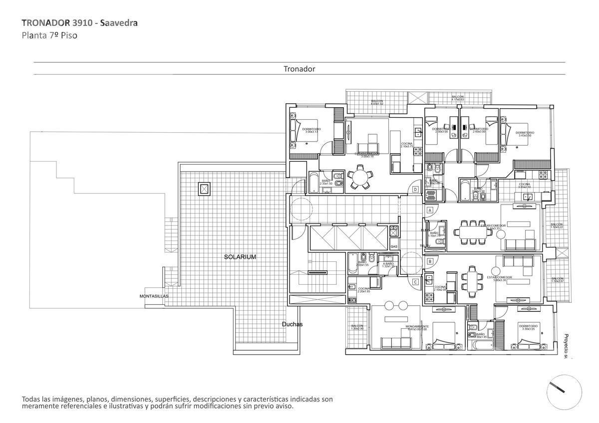 Foto Edificio en Saavedra Tronador al 3900 numero 12