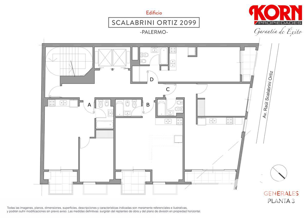 Foto Edificio en Palermo Av. Raul Scalabrini Ortiz y Paraguay numero 17