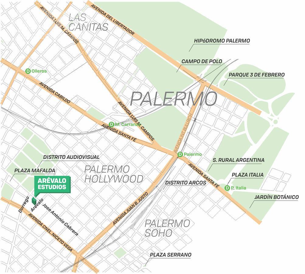 Foto Edificio en Palermo Hollywood Arévalo entre Av. Cnel. Niceto Vega y José A.Cabrera numero 2