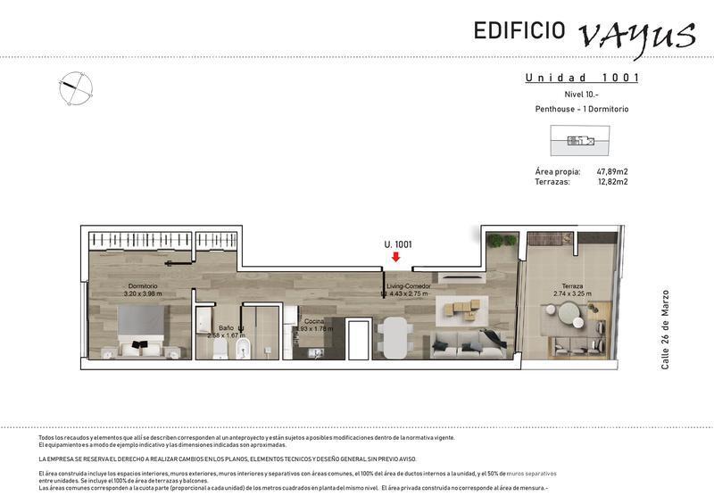 Foto Edificio en Pocitos 26 de marzo y Luis A. de Herrera número 14