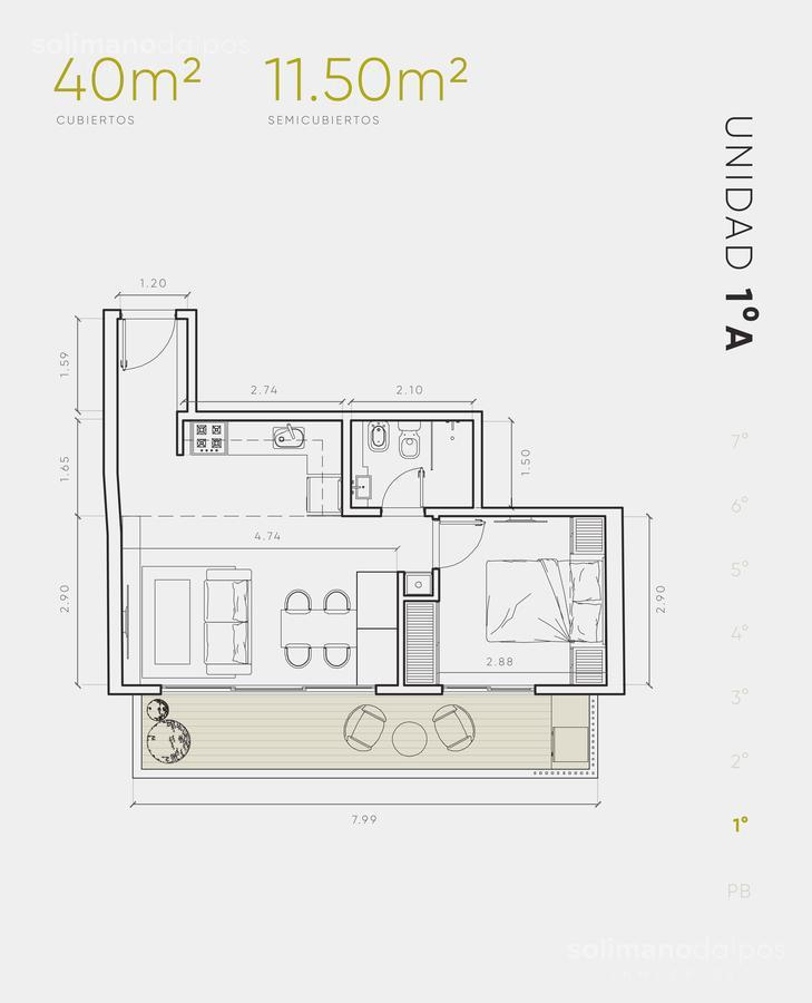 Foto Edificio en Villa Urquiza Galvan 3171 número 10