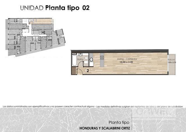 Foto Edificio en Palermo Honduras y Scalabrini Ortiz número 9