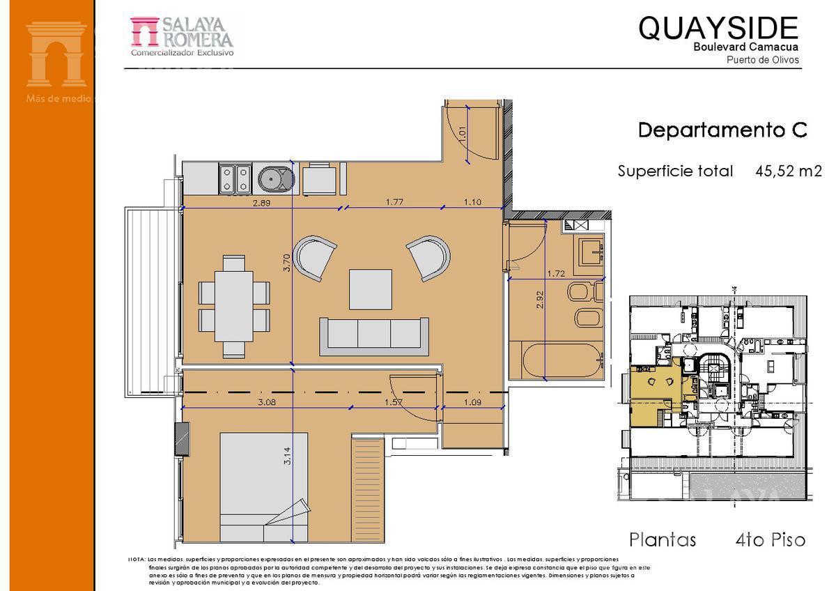 Foto Edificio en Olivos-Vias/Rio Camacua 400 número 22