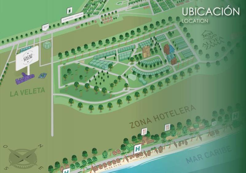 Foto Barrio Abierto en Tulum La Veleta, Aldea Zama, Tulum, Quintana Roo número 5