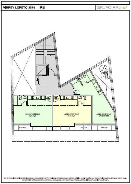 Foto Edificio en Colegiales Virrey Loreto 3500 número 6