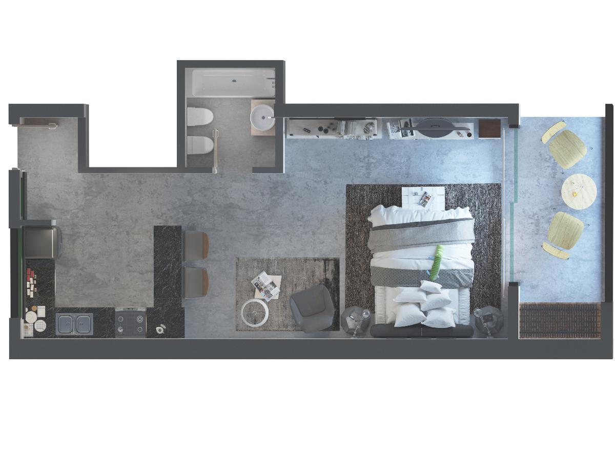 Foto Edificio en Munro Olaguer y Feliu 4961 número 4