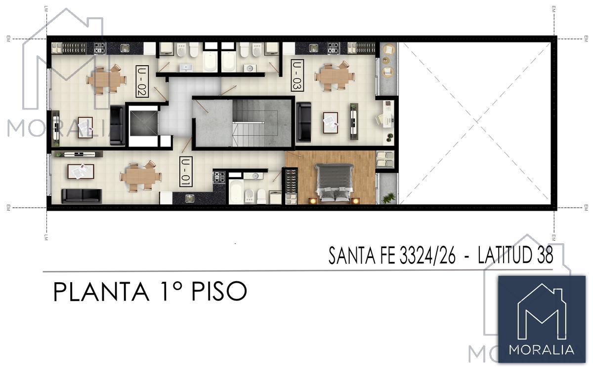 Foto Edificio en Luis Agote Santa fe 3300 número 8