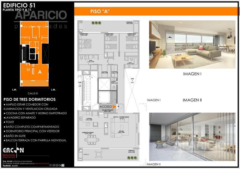 Foto Edificio en La Plata 51 entre 18 y 19 número 5
