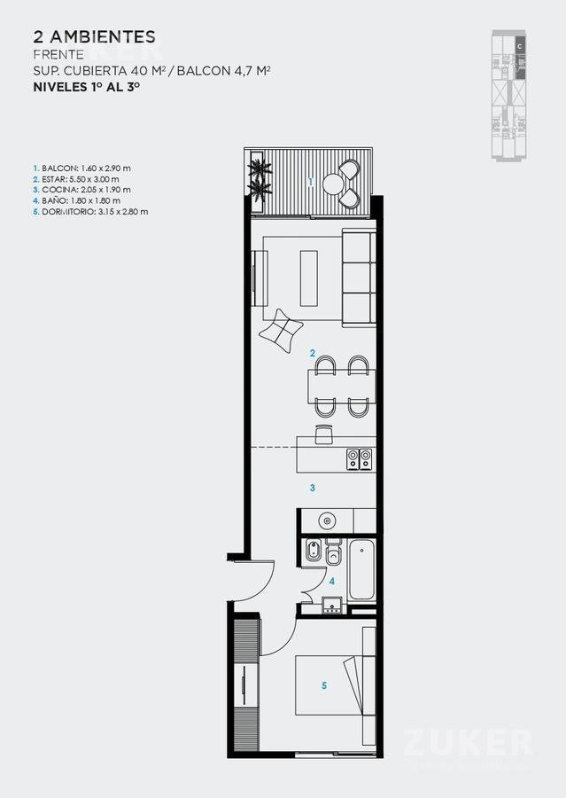 Foto Edificio en Saavedra Jaramillo 3744 número 15