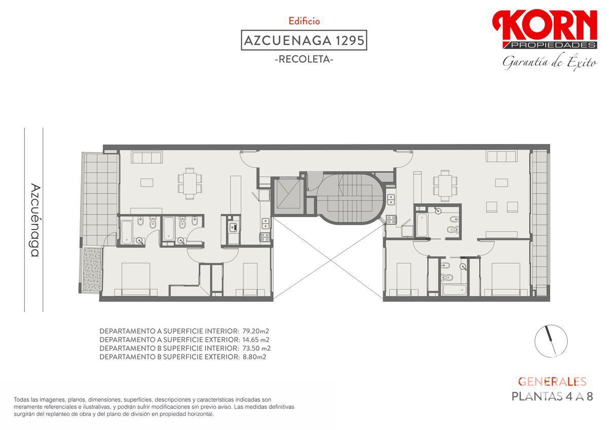 Foto Edificio en Recoleta Azcuénaga entre Beruti y Juncal numero 6