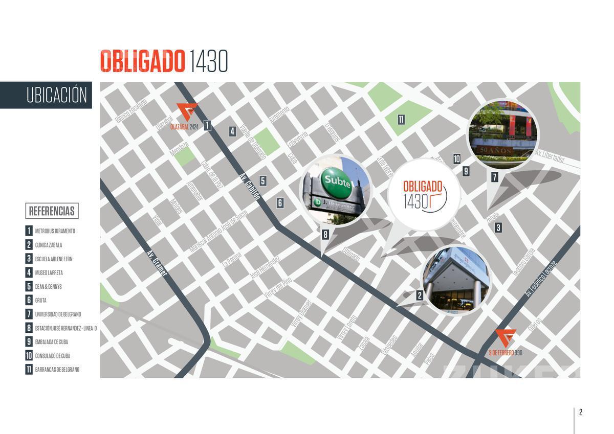Foto Edificio en Belgrano Vuelta de Obligado 1430 número 2