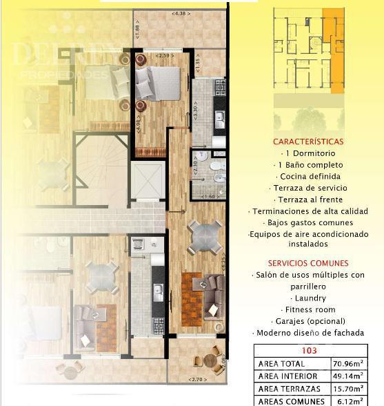 Foto Edificio en Pocitos 26 de marzo y Pereyra de la Luz número 2