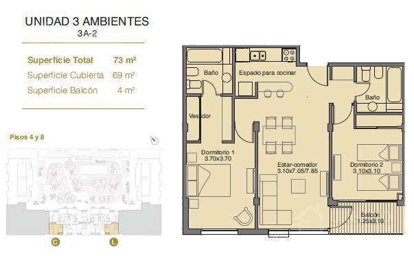 Foto Edificio en Monte Castro Avenida Lope de Vega al 1055. número 13