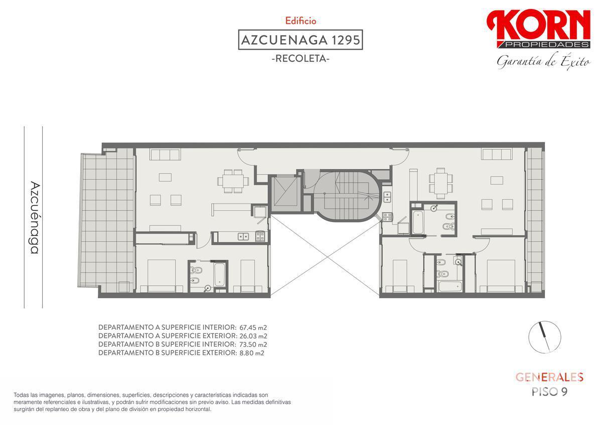 Foto Edificio en Recoleta Azcuénaga entre Beruti y Juncal numero 7