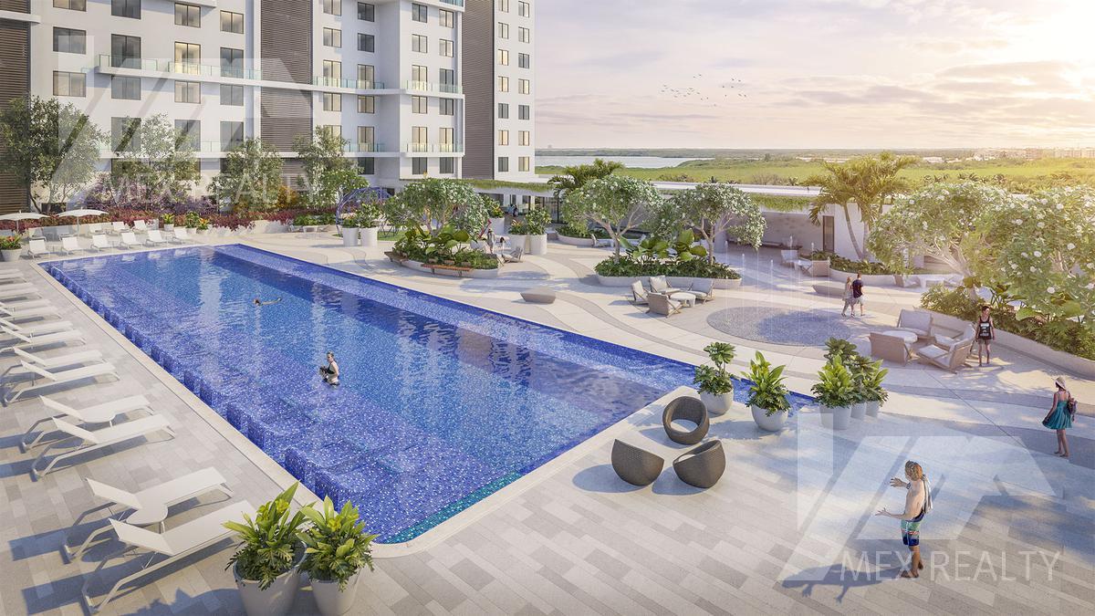 Foto Condominio en Puerto Cancún  Marina Town Center, Puerto Cancún, Zona Hotelera, Cancún  número 20