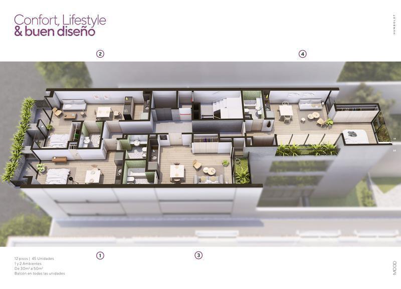 Foto Edificio en Palermo Humboldt 2363 número 5