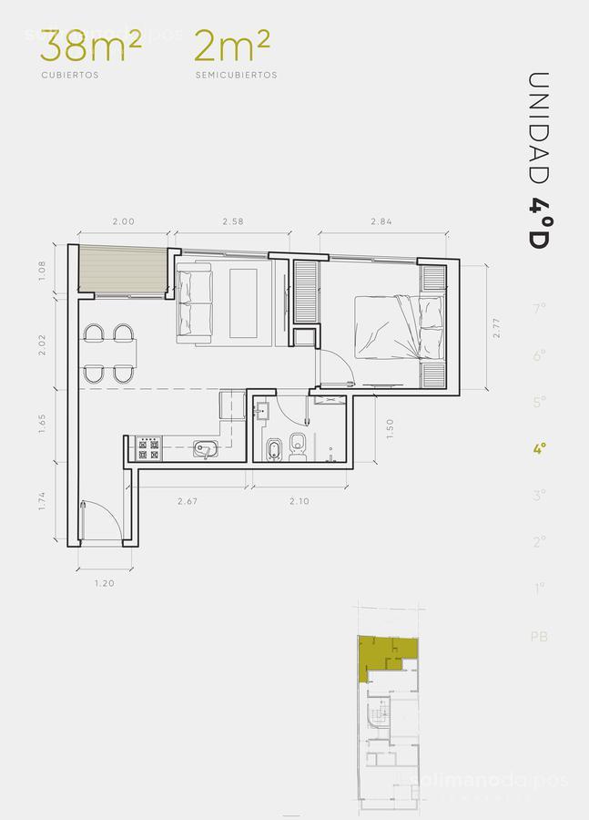 Foto Edificio en Villa Urquiza Galvan 3171 número 16