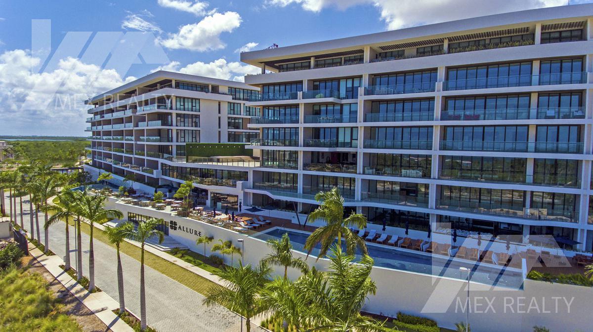 """Foto DESARROLLO - Condominio en  en  Cancún , Benito Juárez  """"ALLURE"""" Ocean Front Luxury Condos. PENTHOUSE, Clave SIND521"""