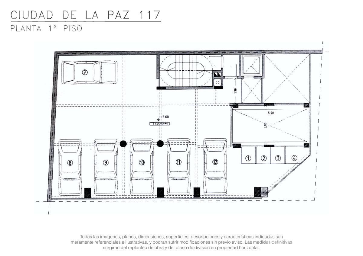 Foto Edificio en Palermo Ciudad de la Paz entre Santos Dumont y Cocepción Arenal numero 7