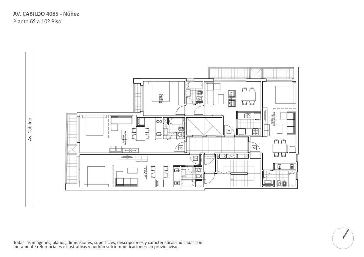 Foto Edificio en Nuñez Av. Cabildo y Vilela numero 5
