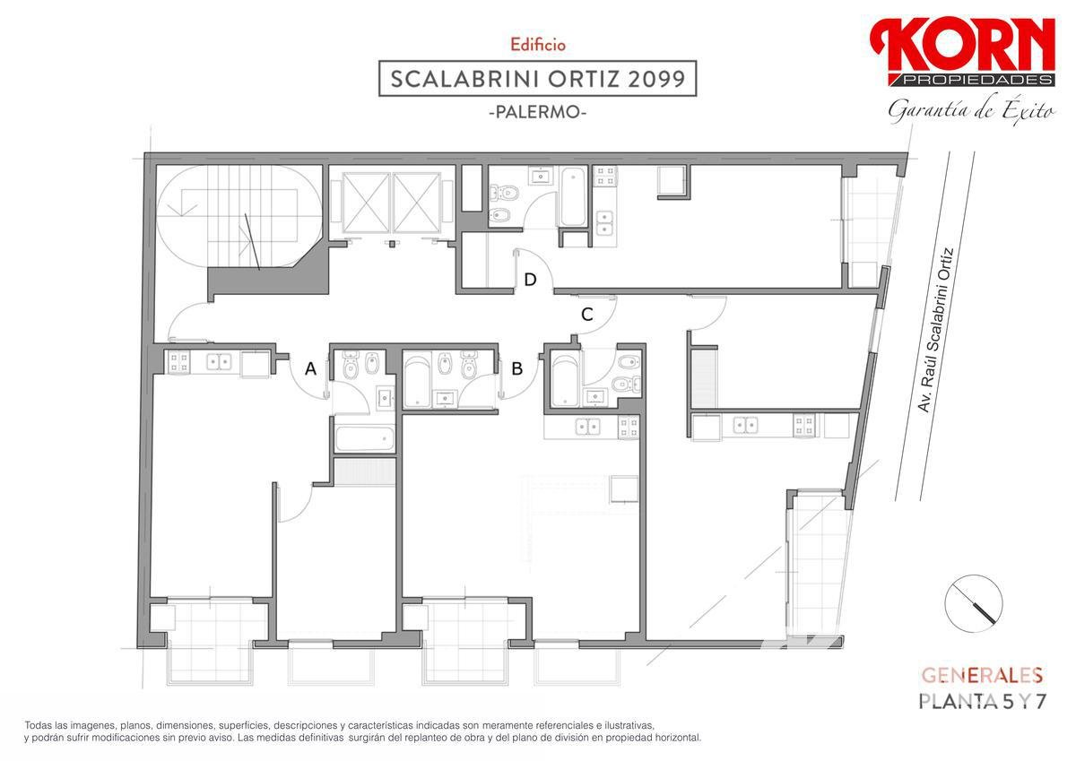 Foto Edificio en Palermo Av. Raul Scalabrini Ortiz y Paraguay numero 14