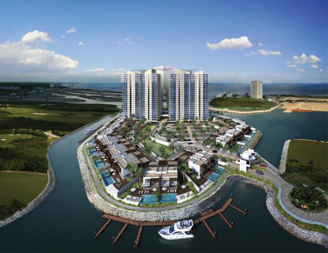 Foto Country en Altamira Ubicado en el corazón de Puerto Cancún. Zona Residencial en la ciudad de Cancún. número 16