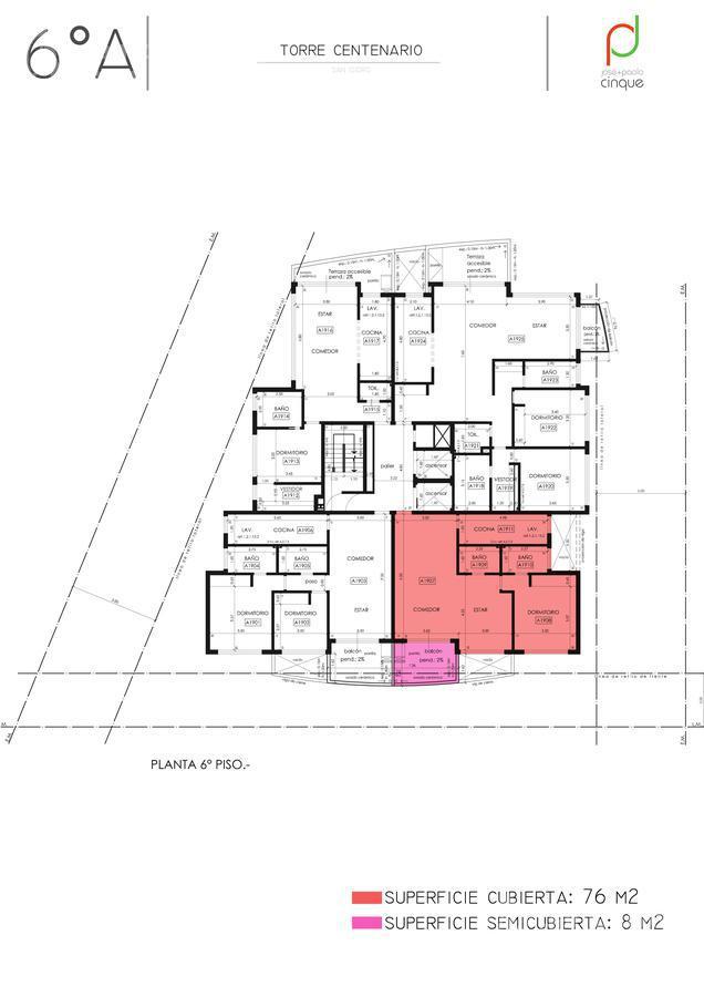 Foto Edificio en San Isidro Edificio en Venta. Entrega Noviembre 2021 número 16