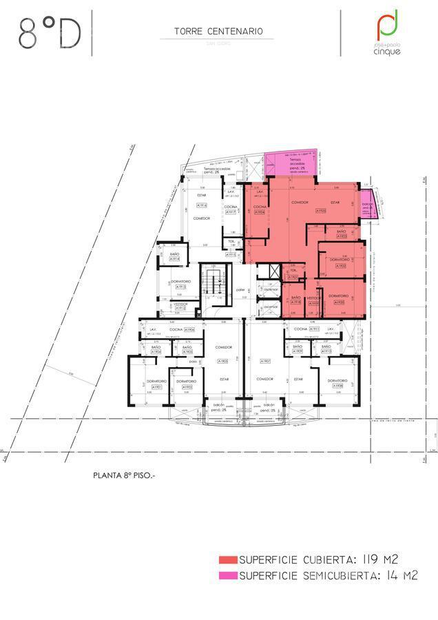 Foto Edificio en San Isidro Edificio en Venta. Entrega Noviembre 2021 número 18