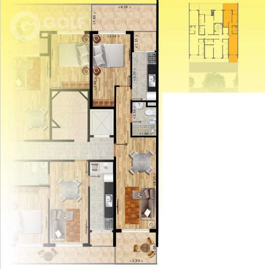 Foto Edificio en Pocitos Nuevo Próximo a WTC y a la Rambla de Pocitos número 7