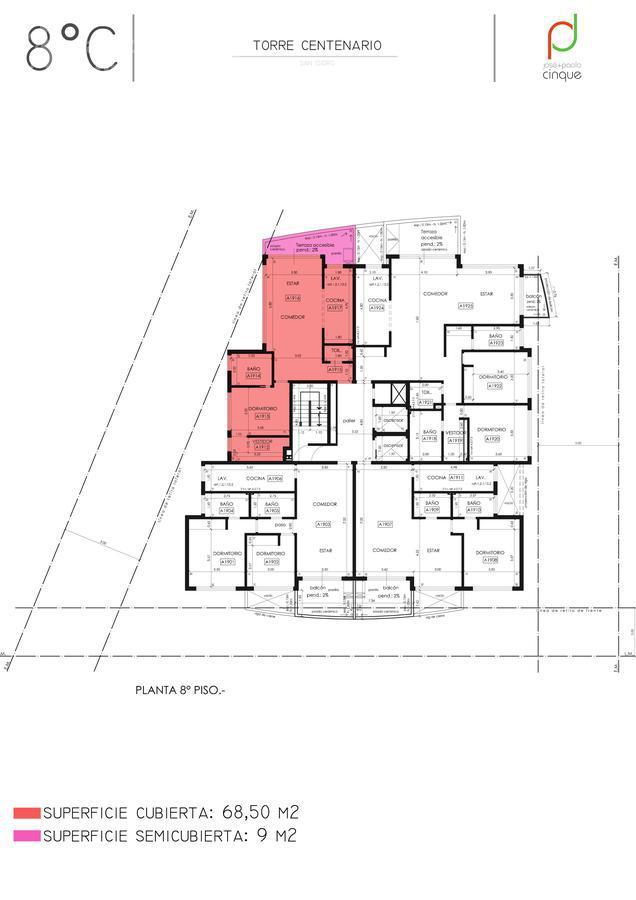 Foto Edificio en San Isidro Edificio en Venta. Entrega Noviembre 2021 número 17
