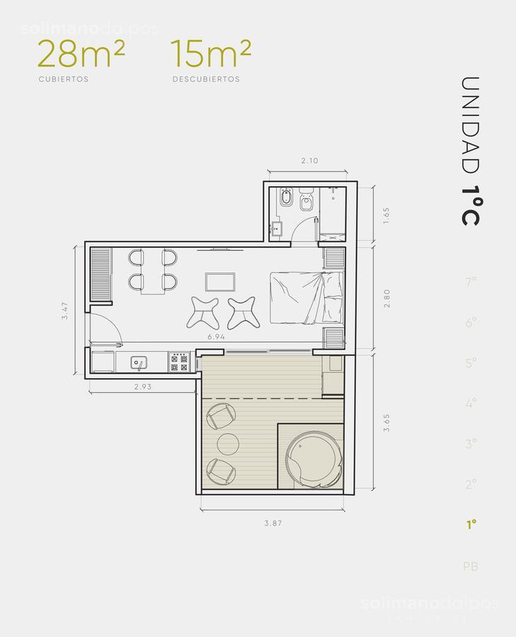 Foto Edificio en Villa Urquiza Galvan 3171 número 12