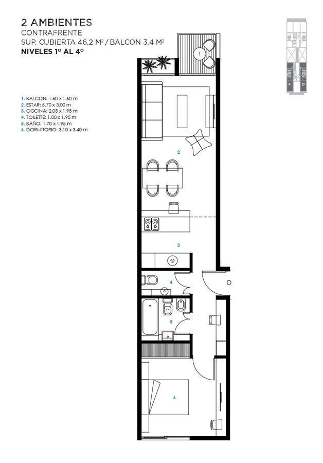 Foto Edificio en Saavedra Jaramillo 3744 número 14