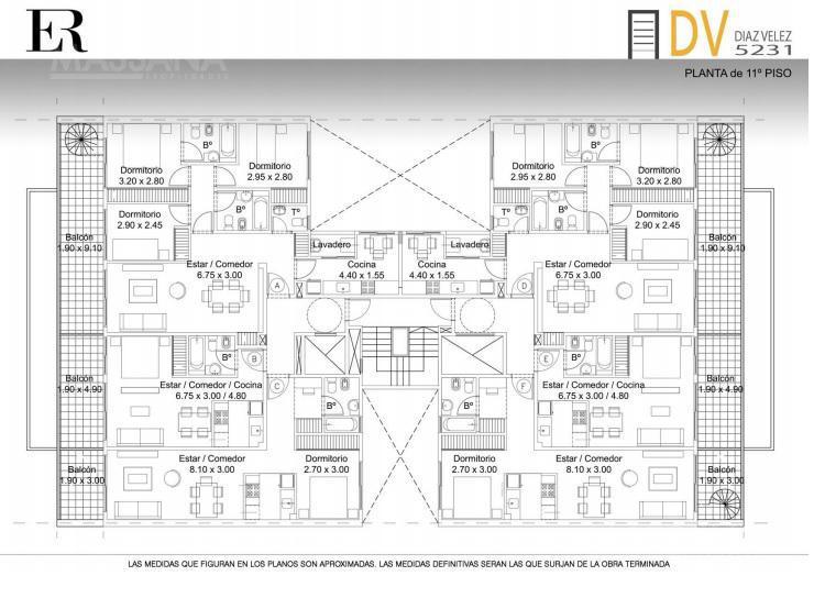 Foto Edificio en Caballito Diaz Velez 5231 número 22