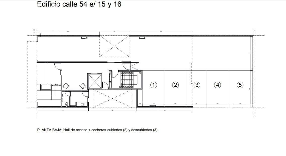 Foto Edificio en La Plata CALLE 54 ENTRE 15 Y 16 número 26