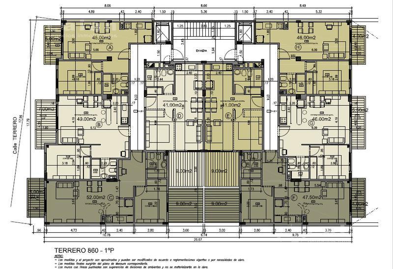 Foto Edificio en Caballito Terrero 800 número 20