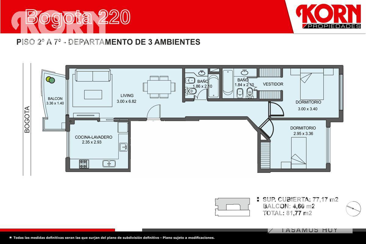 Foto Edificio en Caballito Norte Bogotá entre Dr. Eleodoro Lobos y Campichuelo numero 7