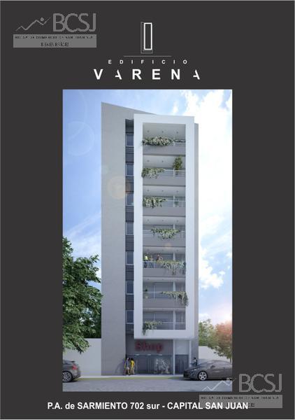 Foto EMPRENDIMIENTO - Edificio en  en  San Juan , Argentina  Edificio Varena - P. A. de Sarmiento antes de Av. Ignacio de la Roza