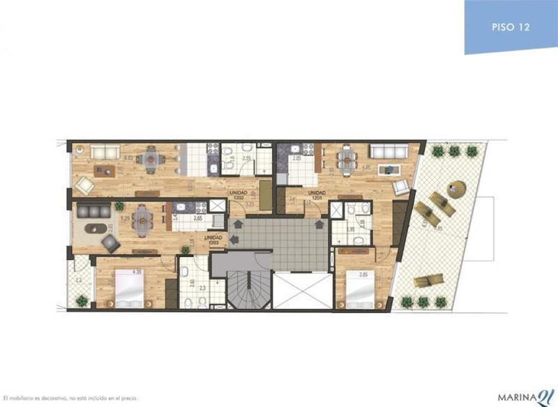 Foto Edificio en Punta Carretas 21 de Setiembre y Echeverria. número 8