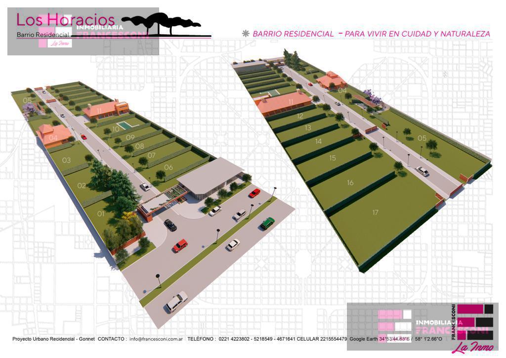Foto Barrio Privado en Manuel B Gonnet 25 505 y 507 número 5