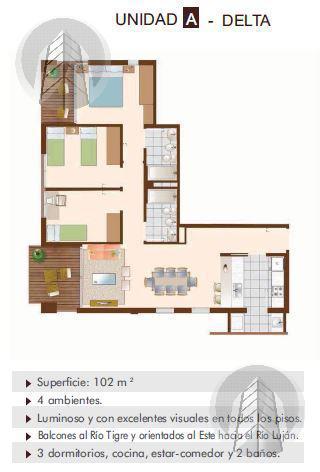 Foto Edificio en Tigre Bartolome Mitre al 300 número 10