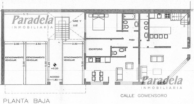 Foto Condominio en Ituzaingó 24 de Octubre y  esquina Gomensoro número 5
